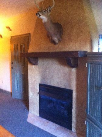 The Wilderness Club at Big Cedar: one bedroom fireplace