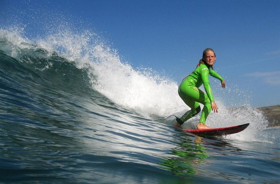 Extreme Academy: Surfing at Watergate Bay