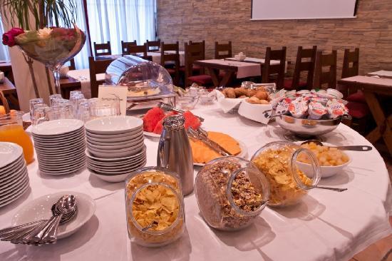 Berkeley Hotel & Day Spa: Delicious breakfasts