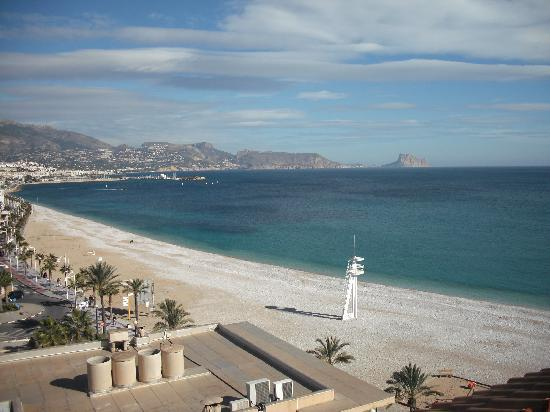 Hotel Kaktus Albir: Views from our room