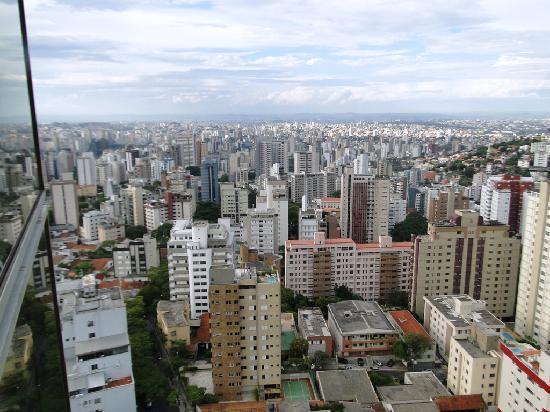Quality Hotel Afonso Pena: Vista do 22º andar.