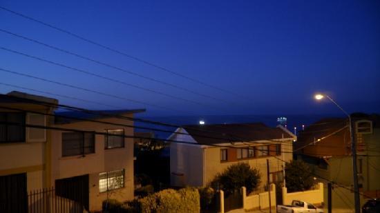 B&B Cariño Porteño: Vista desde el balcón habitación Claudia