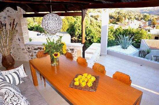 Spili, Greece: large terrace