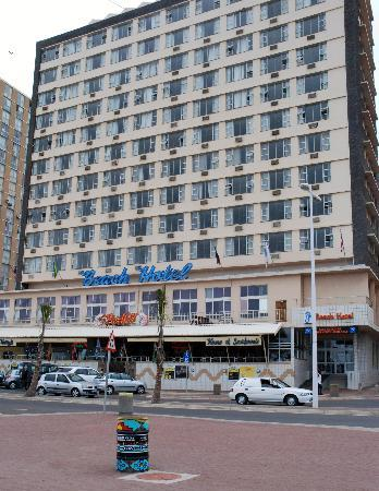 Hotel Front Picture Of Gooderson Beach Hotel Durban Tripadvisor