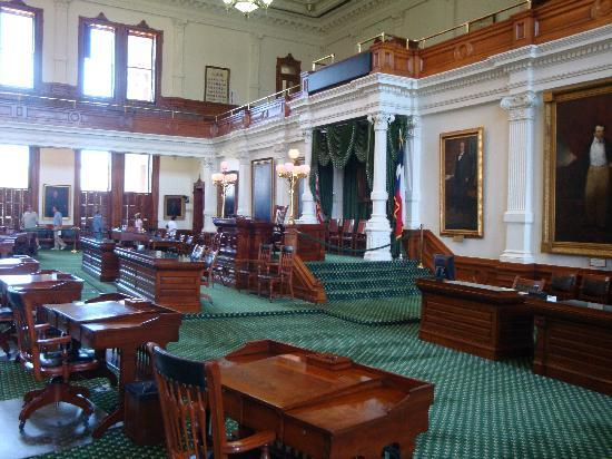 Austin, TX: Inside the state capitol