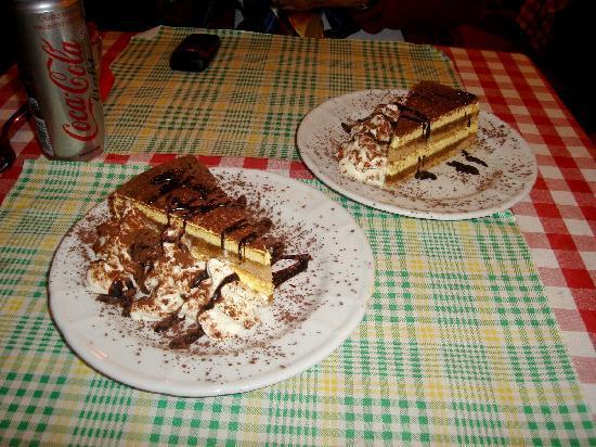 Ristorante Piccolo Martini: the dessert