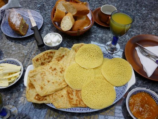 Riad Dar Elghali: Exquisitos desayunos incluidos