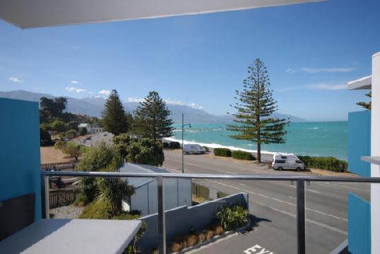 Apartments Kaikoura: A typical view
