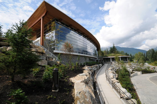 Squamish Lil'wat Cultural Centre: Exterior view of the Great Hall