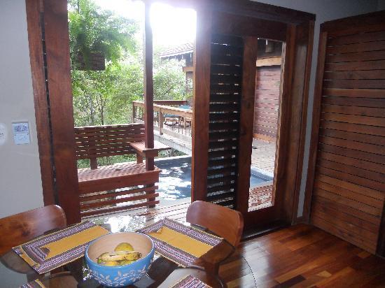 Aqua Wellness Resort: view from the kitchen