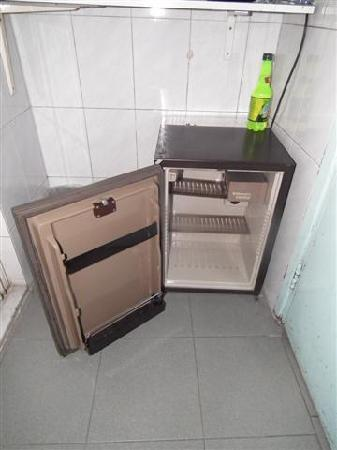New Peking Guest House's refrigerater