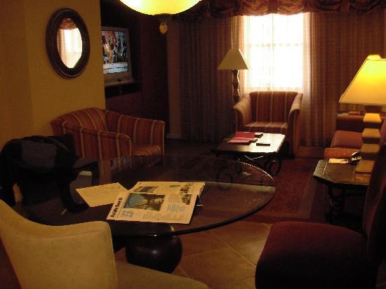 The Grandview at Las Vegas: Living/dining area of condo