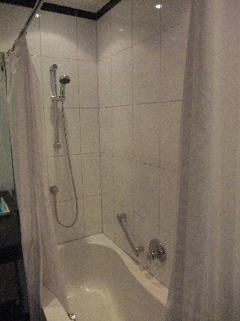 Hotel Ambassador: shower