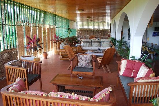 Hajangoua, Mayotte: terrasse