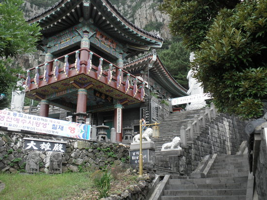 Sanbanggulsa Temple: お寺