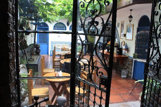 Hostal Buena Vista : Le petit coin Pt Dj