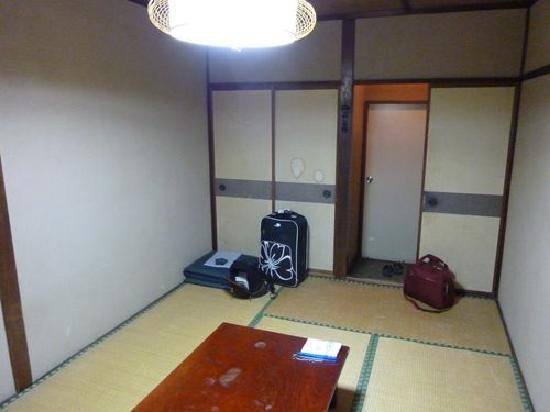 Kappa Tengoku: La chambre lors de mon séjour.