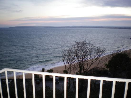 Bay St. Ives Bay Hotel: view from balcony