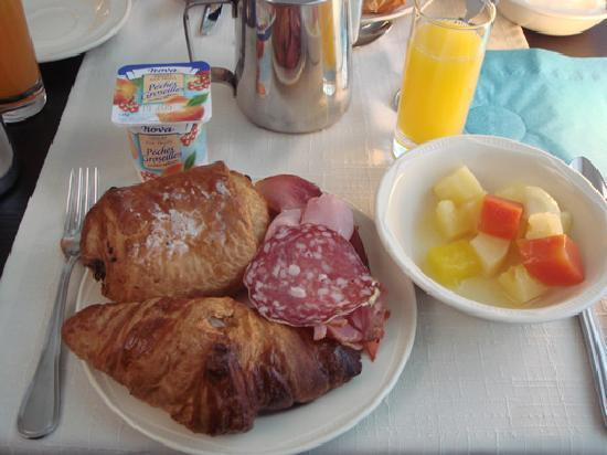 Le Grand Hôtel : おいしい朝食