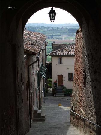 Touristic Farm Podere Chiasso Gherardo: Peccioli street scene