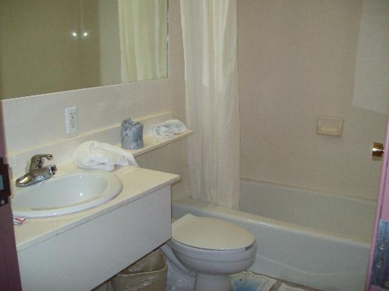 Galaxy Motel : the bathroom