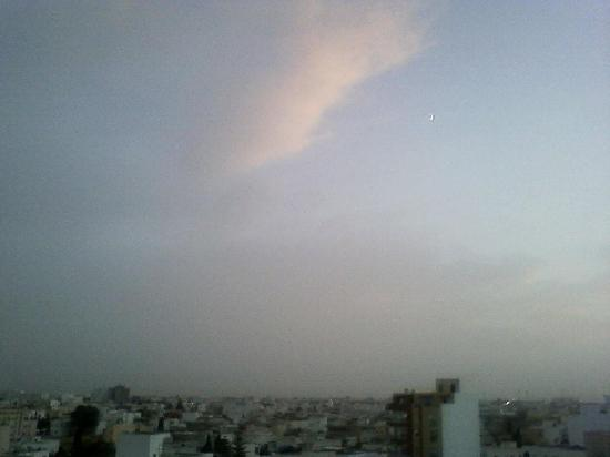 Kaiser Hotel: View from Sousse