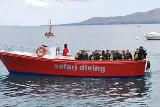 Safari Diving Lanzarote : Boat