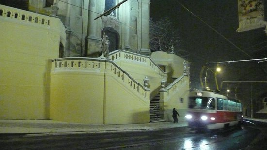 Hotel u Svateho Jana: La même en hiver