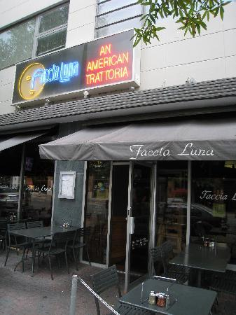 Faccia Luna: The perfect setting to enjoy fine Italian fare and watch the world stroll by!