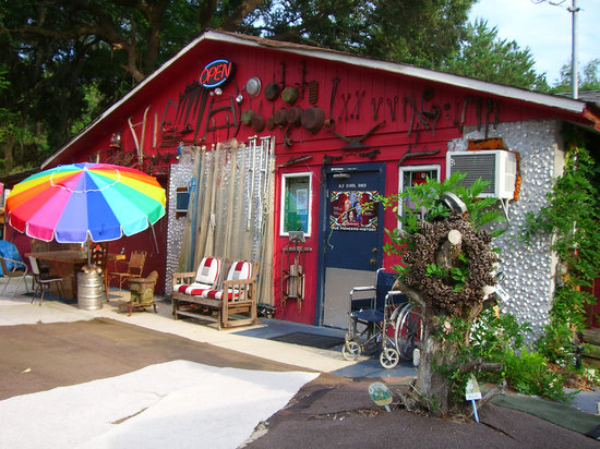 The Old School Diner Front Entrance