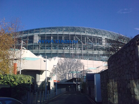 Aviva Stadium Tour: The approach to the stadium