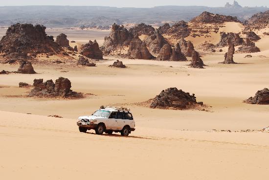 Akakus Desert : Felslandschaft