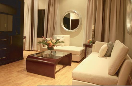 Clear Essence California Spa and Wellness Resort: Lounge area of the Beverly Hills Suite