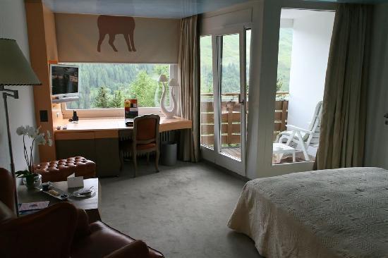 Tschuggen Grand Hotel: Zimmer