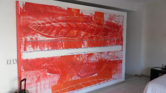 In Fashion Hotel & Spa: el mural la decoracion excelente