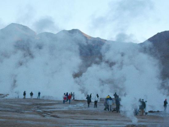 Deserto do Atacama: Geysers El Tatio