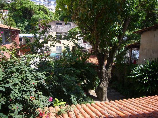 Mansion VillaVerde - Pousada & Vacation Rentals: Blick aus unserem Zimmer