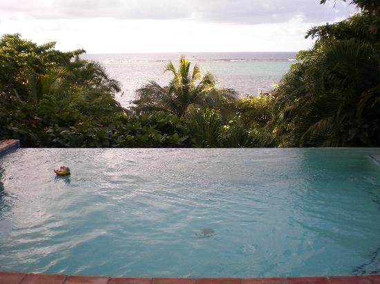 Mayoka Boutique Hotel: no kidding about the view
