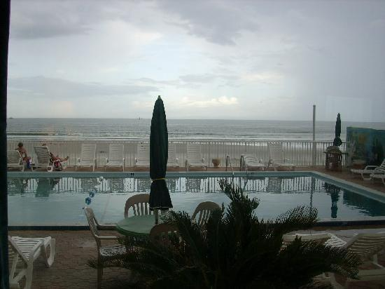 Atlantic Ocean Palm Inn: The view from our window