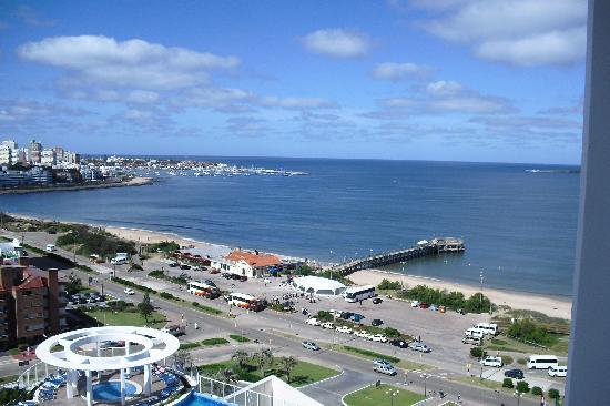 Conrad Punta del Este Resort & Casino: see view from balcony