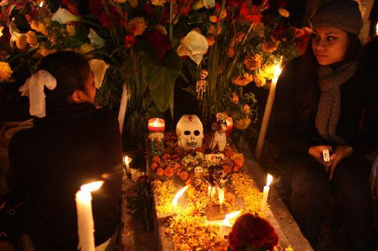 Hotel Marques del Valle: Day of the Dead is amazing!!