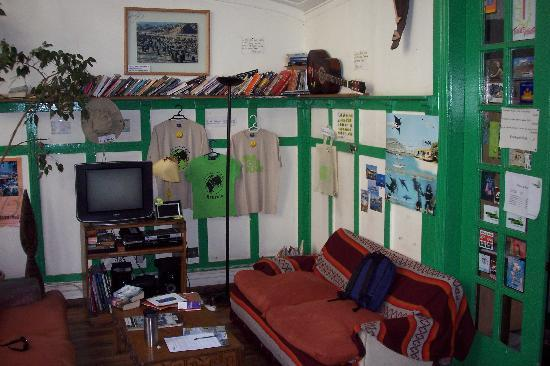 Ecohostel Chile: Common Room