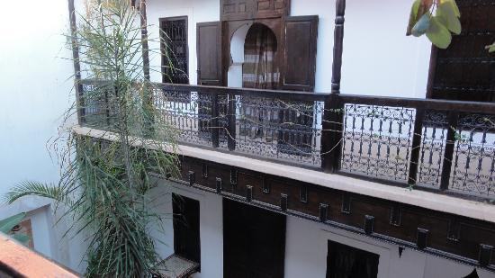 Riad Les 5 Soeurs: View from the upper floor