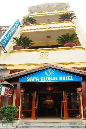Sapa Global Hotel: Outside View of hotel