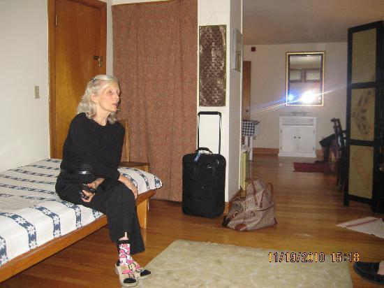 Gray House Cambridge Accommodations: Karin  came in to describe the property