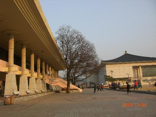 Gyeongju, Sør-Korea: ユネスコ遺産の仏国寺です。