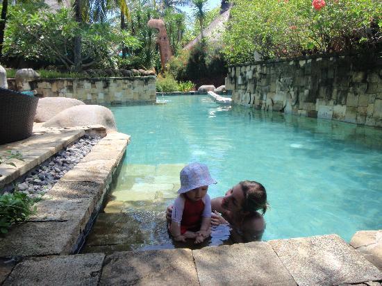 Novotel Lombok: garden piscine