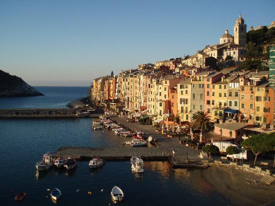 Porto Venere, Italien: Blick vom Grandhotel Portovenere aus
