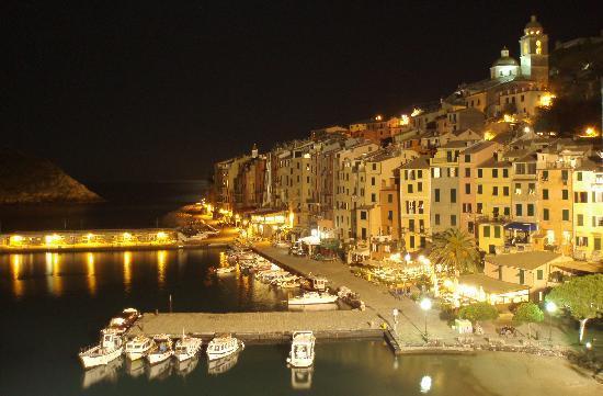 Porto Venere, Italien: nächtliches Portovenere
