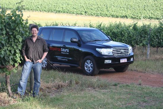 Top Drop Tours Margaret River : Relax in our luxury vehicle